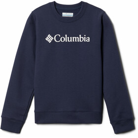 Columbia Park French Terry Langarm Rundhalsshirt Kinder nocturnal